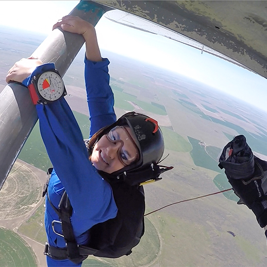 Solo Skydiving Student